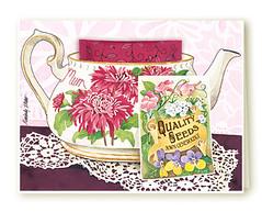 Mum Teapot (Kimberly Shaw Graphics) Tags: watercolor card teacup greeting teabag kimberlyshawgraphics