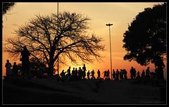 Pôr-do-sol no Parque Marinha (hades.himself) Tags: parque sunset backlight nikon portoalegre pôrdosol luis riograndedosul hades marinha silhueta sulfotoclube d40 balbinot 1855mmf3556gediiafsdx