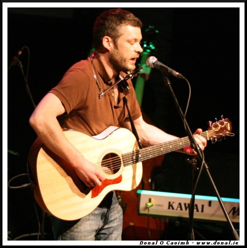 Aaron Dillon at the Triskel (Album Launch)