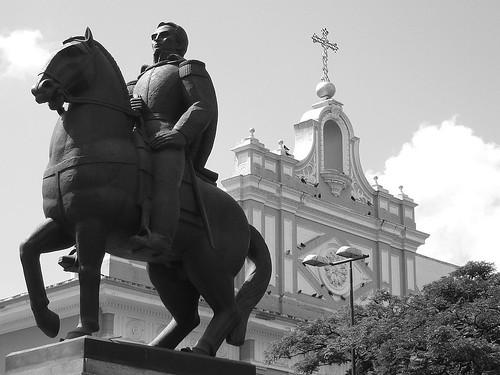 Estatua ecuestre de Rafael Urdaneta - Maracaibo, Venezuela