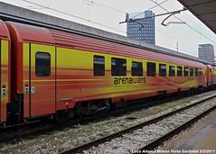 arenaways (Luca Adorna) Tags: arenaways milano milanoportagaribaldi private coach carrozza carrozzaarenawaysurbanurbanoitalian railwaysitalian railway
