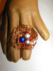 Bird's nest ring (peskychloe) Tags: handmade jewellery independent copper lbc peskychloe lifesbigcanvas