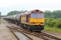 60024, Cam and Dursley 6 June 2011 (jrs1967_1) Tags: 6 june diesel cam db class oil locomotive lindsey tug 60 tanks schenker 2011 ews westerleigh dursley 60024 jrs19671