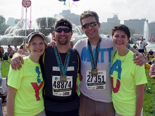 Erica, Fuzzy, Matt, and Brandi