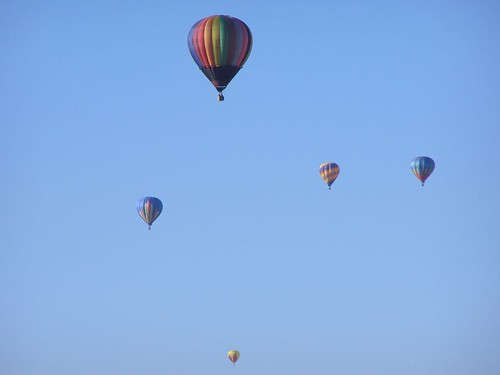 Albuquerque New Mexico Balloon Fest Hot air Balloons NM