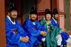 test examiners (Derekwin) Tags: festival korea derek winchester hwaseong suwon hwaseonghaegung derekwin southkoreakorean derekwinchester