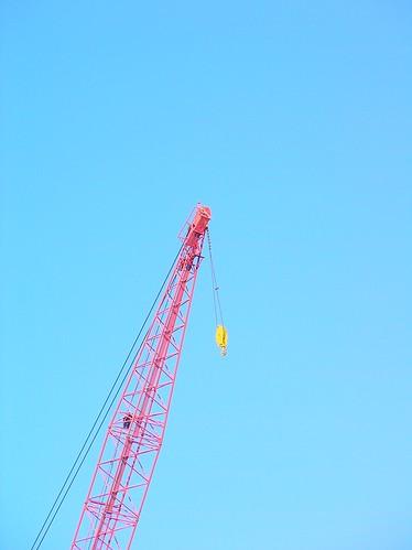 building X sky 建築中