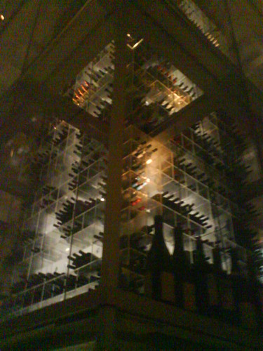 The Wine Rack at the Aureole