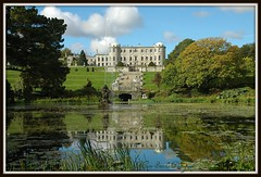 Powerscourt ~ (**Mary**) Tags: ireland green castle history water gardens architecture wow reflections wonder landscape pond scenery peaceful landmark eire explore powerscourt fengshui tranquil irishhistory enniskerry picnik cowicklow 5photosaday powerscourtestate dolphinpond bestofmywinners