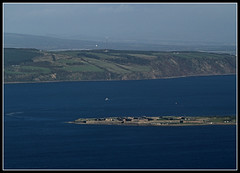 Fort George and the Moray Firth (ccgd) Tags: scotland highlands edinburgh flight ba inverness intheair firthofforth saab340 loganair