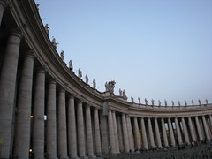 Pillars St. Peter's Square (Andriana.pamella) Tags: city italy vatican rome church st square catholic pillar peter pamella andriana diamondclassphotographer