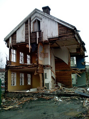 One half house