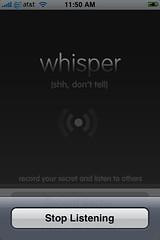 Whisper update 1