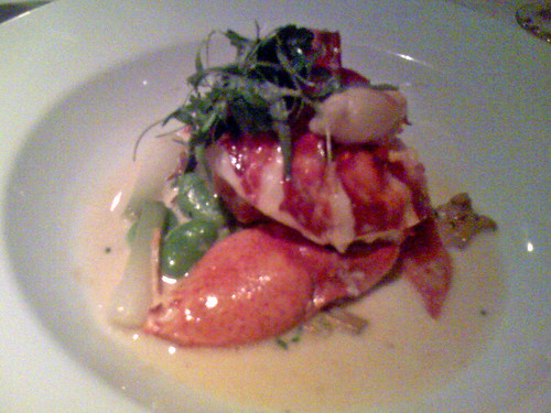 Providence:  Butter-Poached Lobster