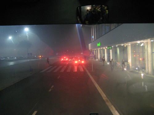 Arriving in Katowice