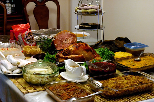 thanksgiving spread by Joits.