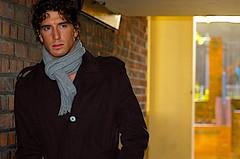 [フリー画像] [人物写真] [男性ポートレイト] [外国人男性] [イケメン] [コート]      [フリー素材]