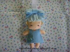 Porta recado (Casinha de Pano) Tags: doll handmade felt porta feltro recado