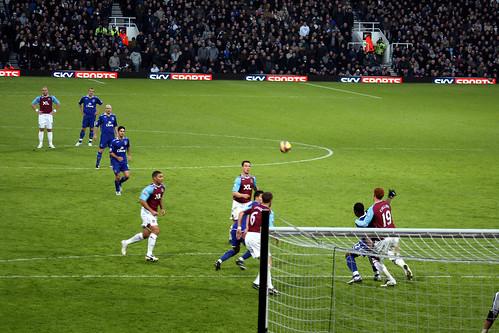 West Ham 0 v Everton 2 - Upton Park, London, England - Saturday December 15th 2007.