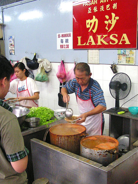 laksa air itam, Penang