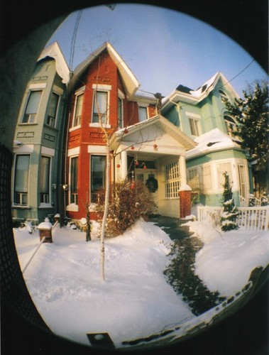 Winter Houses on Dovercourt Road