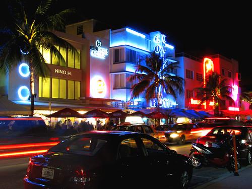 Art Deco District, South Beach Miami