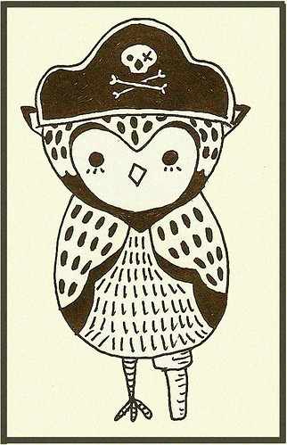 my little pirate owl...