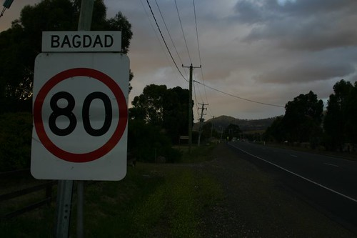 Bagdad - the Tasmanian version.
