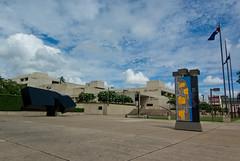 Queensland Art Gallery (QAG), Brisbane Australia (Craig Jewell Photography) Tags: blue sky sculpture building green art architecture iso200 gallery centre brisbane f90 queensland cultural qag cloudscloudy 11250sec pentaxk10d smcpentaxda1224mmf4edalif smcpda1224mmf40edalif justpentax cpjsm craigjewellphotography
