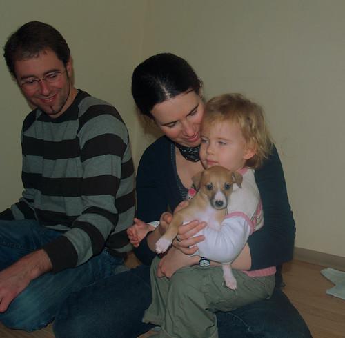 Andi, Julis, Emma und Anukis