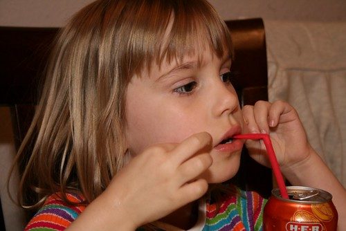 Cassie With Straw