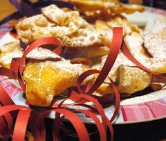 crostoli e tortelli