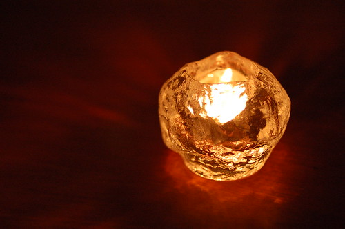 KostaBoda Snowball Candle Stand