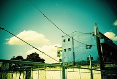 i used to shoot firewalls (Stitch) Tags: sky building green lomo lca xpro philippines expired weekly pasig fujiprovia100f firewalls interestingness80 i500 explore12feb08