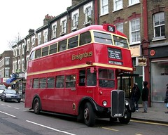 DSCN0416 (Sou'wester) Tags: london lastday routemaster publictransport 36 lrt rt lt rm londontransport rml finalyears lastdayroute lastday36