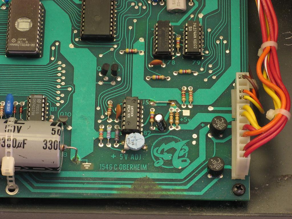 DSX Circuit Board Yotsubaamp Tags Broken Analog Vintage Keyboard Synth Analogue