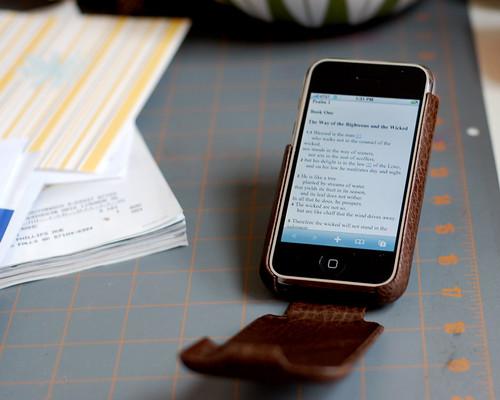 ESV on iPhone 1