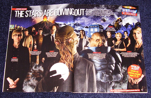 RADIO TIMES - Double Page WHO Spread