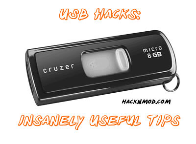 USB Mania - 6 Insanely Useful Tips