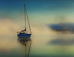 Petrie Island Sailboat (ppolgar) Tags: fog sailboat ottawa smrgsbord petrieisland awesomeshot nikond2x mtrtrophyshot
