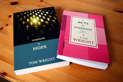 Tom Wright on Hope and a guide to Acts - click to enlarge
