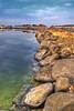 Clarity (Khaled A.K) Tags: sea lake rock reflections rocks bluesky shades jeddah saudiarabia khaled hdr mitsubishi magna ksa nikkor1855 5xp nikond80 ageel betterthangood salmanbay