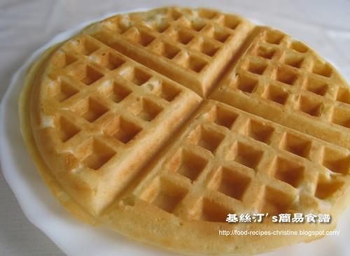 格仔餅 Waffle01