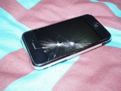 Broken iPhone (3)