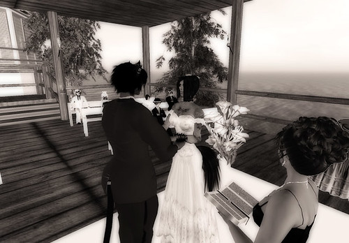 Looming's Wedding - At the altar