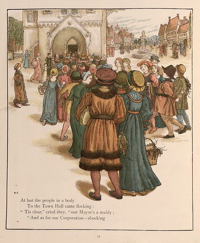 5-The pied piper of Hamelin-Ilustrated by Kate Greenaway 1888