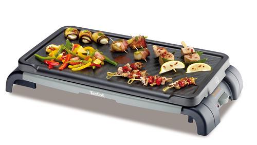 Une recette barbecue plancha les brochettes de saint jacques ma cuisine r - Fabriquer une plancha ...