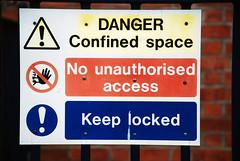 Danger Warning Signs