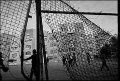 Football Kids (intasko) Tags: monochrome film analog algerie algeria medea man trip landscape mju olympus bw pellicule life vision human algerian tradition islam vie muslim football kids enfants urban