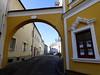 Eisenstadt: Eingang zum früheren jüdischen Ghetto / Entry to former Jewish ghetto